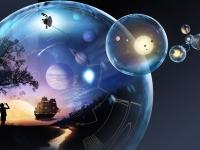 Když duše splní svůj plán na Zemi, odchází do Vesmíru