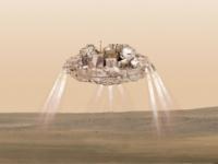 Sonda Schiaparelli po dopade vyhĺbila kráter na Marse