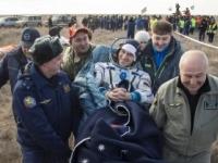 Modul Sojuz dopravil na Zem troch členov posádky ISS