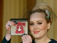 Adele dostala Rad britského impéria