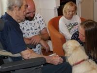 Liečivý dotyk živých bytostí v Alzheimer Home Avalon