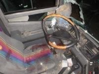 Pri nehode autobusu zomrela žena, sedem ľudí sa zranilo