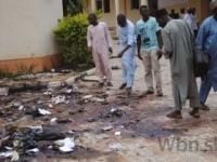 Pri preplnenom trhovisku v Nigérii sa odpálili štyria muži
