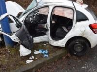 Obrazom: Mladá vodička sa pri nehode vážne zranila