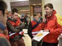 Študenti v Púchove zažili hodinu chémie na čerpacej stanici