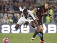 Video: AC Miláno vyhral v Sassuole, Kucka dostal žltú kartu
