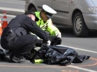 Vodič Peugeotu 206 zrazil muža, ktorý ležal na ceste