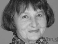 Vo veku 83 rokov zomrela herečka Viera Topinková